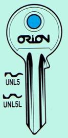Raktų ruošinys JMA UNL5, U-5D, 15D, 1 vnt.