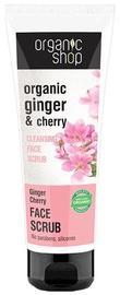 Organic Shop Ginger Cherry Cleansing Face Scrub 75ml