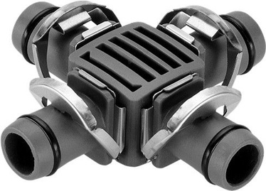 "Соединение Gardena Micro-Drip-System 4-Way Coupling 13 mm 1/2"""