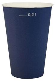 Pap Star Paper Glass 20cl 20pcs Navy