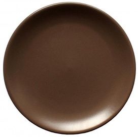 Cesiro Wood Plate 26cm Brown
