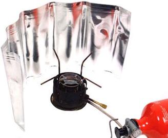 Relags Aluminium Windscreen Roll Up