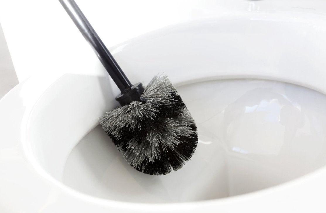 Brabantia Toilet Brush.Brabantia Toilet Brush Set Brilliant Steel 427169