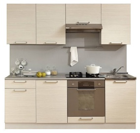 MN Kitchen Unit Simpl 2.1m White