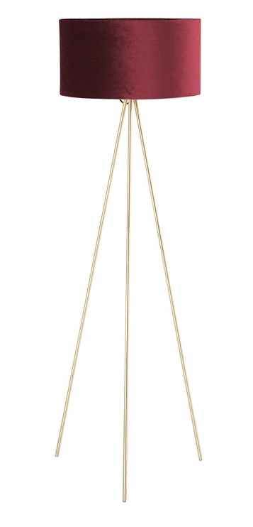 Home4you Trinity Floor Lamp E27 40W Red/Gold