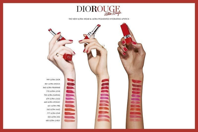 Christian Dior Rouge Dior Ultra Rouge 3.2g 823 Limited Edition