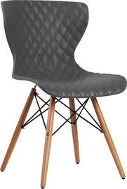 Home4you Office Chair Charles Gray 21022