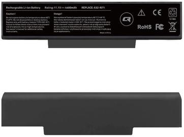 Аккумулятор для ноутбука Qoltec Long Life Notebook Battery For Asus A32-K72 4400mAh