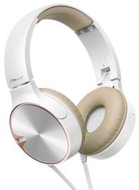Ausinės Pioneer SE-MJ722T Headphones White/Brown