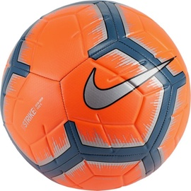 Nike Strike Soccer Ball Orange/Silver Size 4