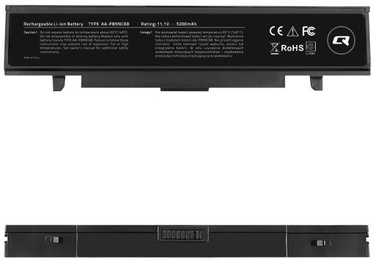 Qoltec Long Life Notebook Battery For Samsung R580 5200mAh