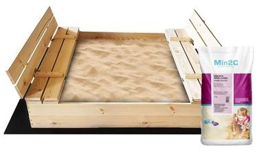 Smilšu kaste 4IQ, 140x140 cm