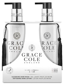Grace Cole Ginger Hand Care Duo 300ml White Nectarine & Pear