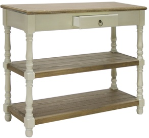 Home4you Coffee Table Samira 97x35x80cm White/Brown