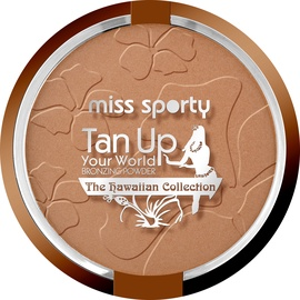 Bronzējošs pulveris Miss Sporty Tan Up Your World 10, 18 g