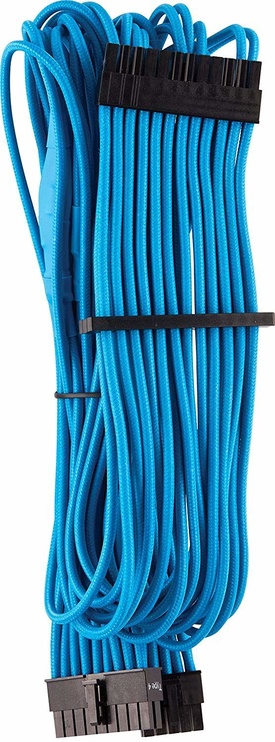 Corsair Premium Sleeved 24-pin ATX cable Type 4 Gen 4 Blue