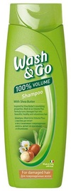 Šampūnas Wash&Go Shea Butter, 200 ml