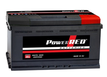 Akumulators Power Red LB5, 88 Ah, 750 A, 12 V