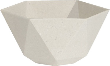 Home4you Sandstone Flowerpot 35x35xH15.5cm 71913