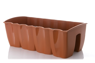 Prosperplast DCRO600 Crown Rail Box 58 x 28cm Brown