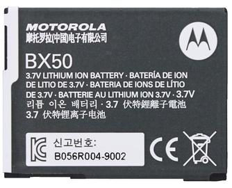 Motorola BX50 Original Battery 720mAh