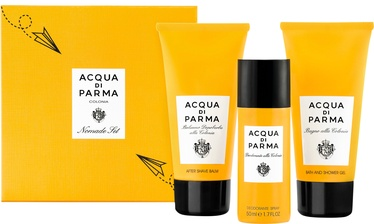 Acqua di Parma Colonia Nomade Set 75ml After Shave Balm + 50ml Deodorant + 75ml Bath And Shower Gel