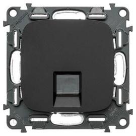 Kompiuterio lizdas Legrand Allure, juodos spalvos