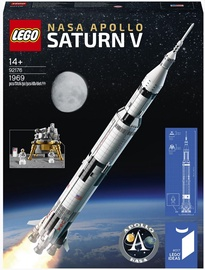 Konstruktor LEGO Ideas LEGO® NASA Apollo Saturn V 92176, 1969 tk