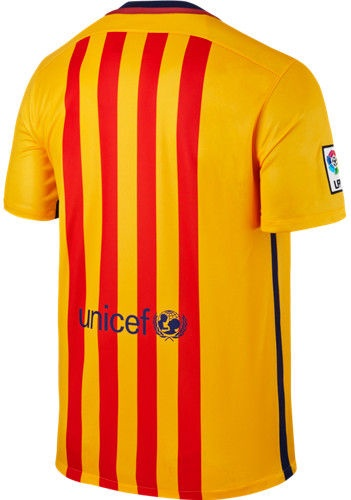 Nike FC Barcelona T-Shirt 658785 740 Yellow L