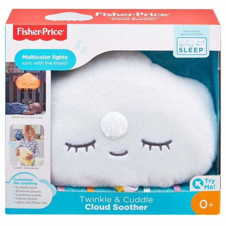 Fisher Price Twinkle & Cuddle Cloud Soother GJD44