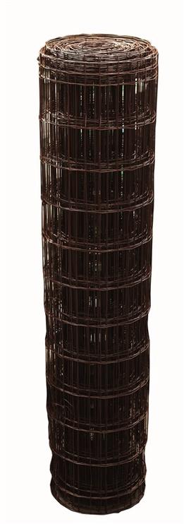 Suvirintas rudas tinklas 2.5 x 100 x 50 x 1200 mm, 25m
