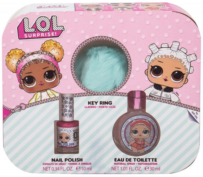 Набор для детей Air Val International L.O.L. Surprise Perfume Set 3pcs