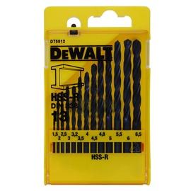 Metalo grąžtų komplektas Dewalt DT5912, 13 vnt