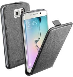 Cellular Line Flap Essential Case For Samsung Galaxy S6 Edge Black