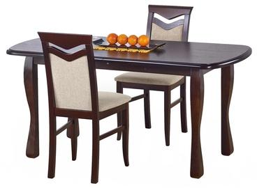 Pusdienu galds Halmar Henryk, ozola, 1600x800x750mm
