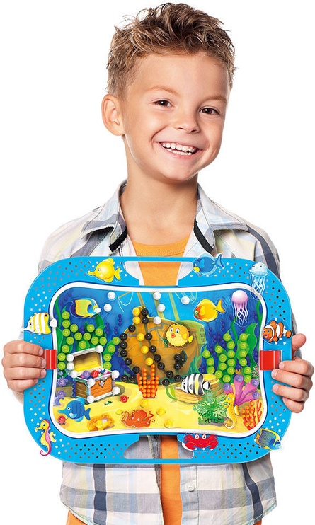 Mozaika Quercetti Ocean Fun Fish And Pegs 969