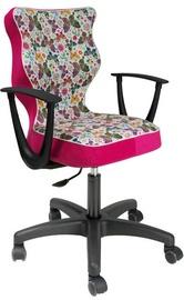 Vaikiška kėdė Entelo ST31 Black/Pink