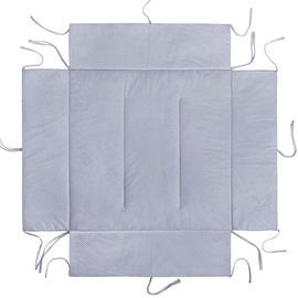 Lulando Playpen Mat For Children Grey With Dots 100x100cm