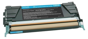 Rašalinio spausdintuvo kasetė Lexmark C748H1CG Cartridge Cyan