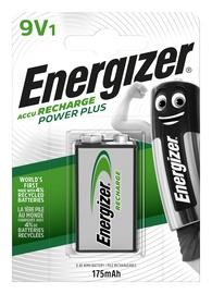 LĀDĒJAMA BATERIJA ENERGIZER POWER PLUS 9V, 175mAh