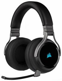 Belaidės ausinės Corsair Virtuoso RGB Wireless Carbon