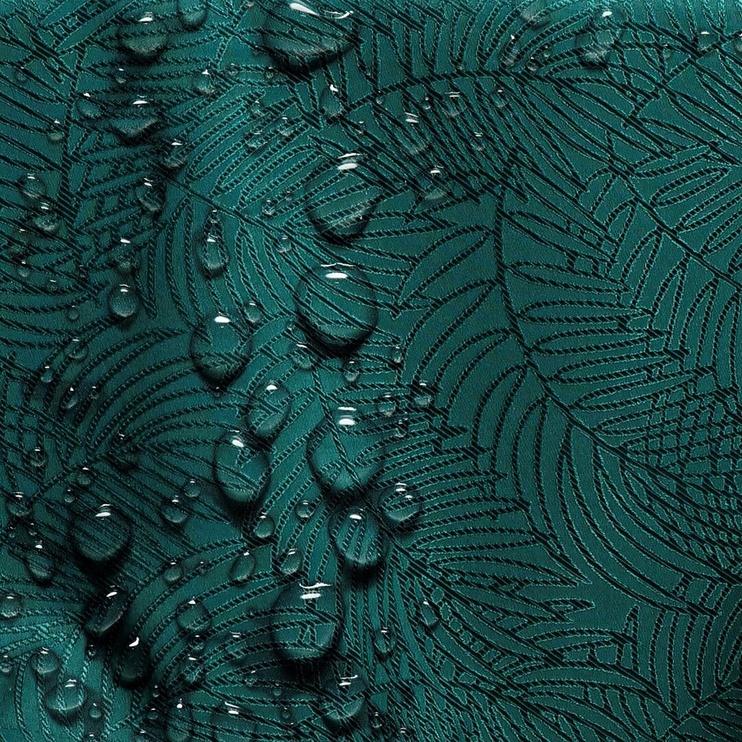 AmeliaHome Gaia Tablecloth HMD Bottle Green 140x180cm