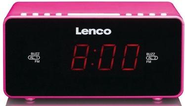 Lenco Stereo Clock Radio CR-510 Pink