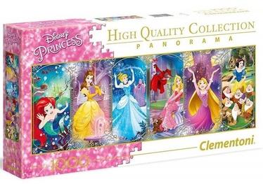 Clementoni Puzzle High Quality Collection Panorama Disney Princess 1000pcs