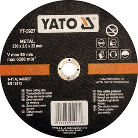 Yato YT-5927 Metal Cutting Disc 230mm