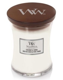WoodWick Coconut & Tonka 275g White