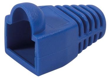 LogiLink Strain Relief Hoods For Modular Plugs x 100 Blue
