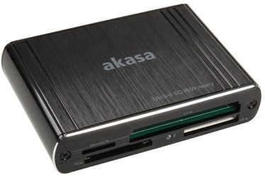 Akasa Card Reader AK-CR-08BK USB 3.0