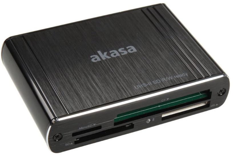 Akasa Card Reader AK-CR-08BK USB 3.0