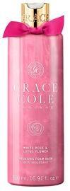 Grace Cole Bath Foam 500ml White Rose & Lotus Flower